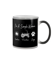 I'm A Simple Woman Farmer Color Changing Mug thumbnail