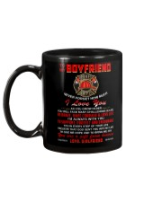 Firefighter Boyfriend I'm Always With You Mug back