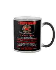 Firefighter Boyfriend I'm Always With You Color Changing Mug thumbnail