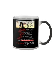 My Dear Son I Am Your Biggest Fan Family  Color Changing Mug thumbnail
