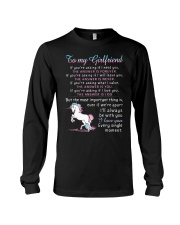 Unicorn Girlfriend The Answer Is You Long Sleeve Tee thumbnail