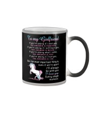 Unicorn Girlfriend The Answer Is You Color Changing Mug thumbnail
