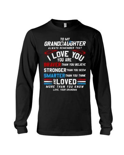 Granddaughter Grandma I Love You
