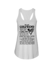 Wolf Girlfriend I'm Always With You Ladies Flowy Tank thumbnail