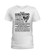 Wolf Girlfriend I'm Always With You Ladies T-Shirt thumbnail