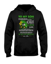 Farmer Son Mom I'm Always With You Hooded Sweatshirt thumbnail
