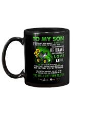 Farmer Son Mom I'm Always With You Mug back