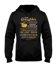 Sloth Daughter Last Breath To Say Love  Hooded Sweatshirt thumbnail