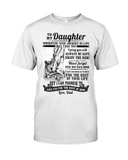 Horse Daughter Dad The Rest Of Mine Classic T-Shirt thumbnail