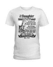 Horse Daughter Dad The Rest Of Mine Ladies T-Shirt thumbnail