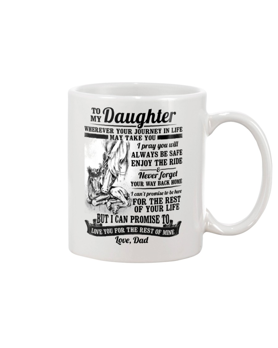 Horse Daughter Dad The Rest Of Mine Mug