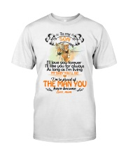 I'll Love You Forever I'll Like You For Always  Classic T-Shirt thumbnail