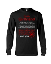Firefighter Anything Right In My Girlfriend Long Sleeve Tee thumbnail