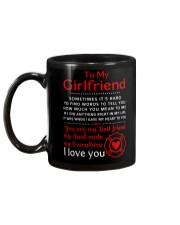 Firefighter Anything Right In My Girlfriend Mug back