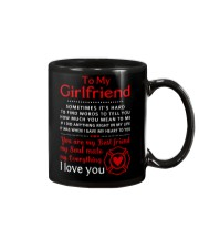 Firefighter Anything Right In My Girlfriend Mug front