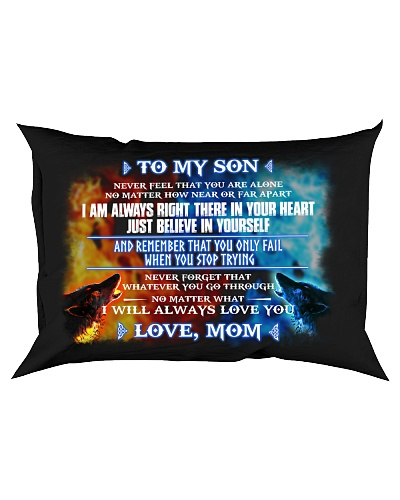 To My Son Never Feel That You Are Alone Wolf Mom