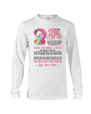Unicorn Aunt Niece I'm Always With You Long Sleeve Tee thumbnail