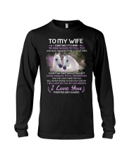 Sometimes It Is Hard To Find Words To Tell You Long Sleeve Tee thumbnail
