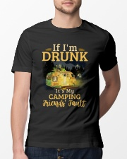 It's My Camping Friends' Fault Camping Classic T-Shirt lifestyle-mens-crewneck-front-13