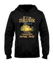 It's My Camping Friends' Fault Camping Hooded Sweatshirt thumbnail