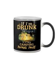 It's My Camping Friends' Fault Camping Color Changing Mug thumbnail