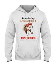 Let Me Check My Giveashitometer Horse Hooded Sweatshirt thumbnail