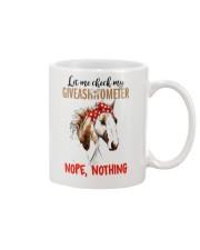 Let Me Check My Giveashitometer Horse Mug thumbnail