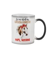 Let Me Check My Giveashitometer Horse Color Changing Mug thumbnail