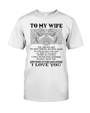 My Wife Growing Old Wolf Classic T-Shirt thumbnail