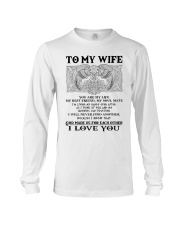 My Wife Growing Old Wolf Long Sleeve Tee thumbnail
