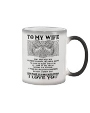 My Wife Growing Old Wolf Color Changing Mug thumbnail