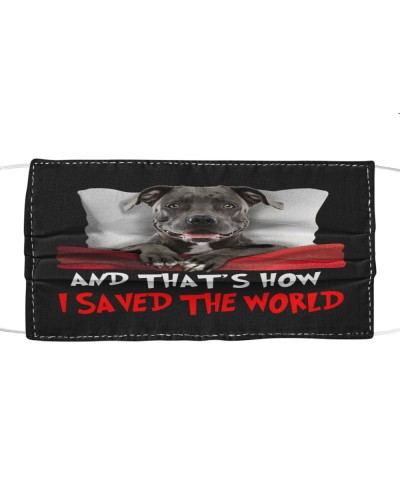 Dog Pitbull How I Saved The World