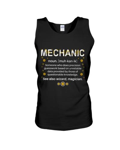 Mechanic Definition