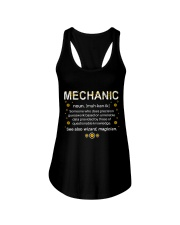 Mechanic Definition  Ladies Flowy Tank thumbnail