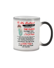 Instruments Tuba Husband Clock Ability Moon Color Changing Mug thumbnail