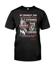 Wofl Mum to Son Always Remember  Classic T-Shirt thumbnail