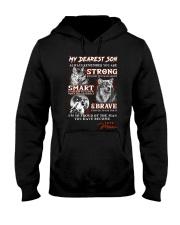 Wofl Mum to Son Always Remember  Hooded Sweatshirt thumbnail