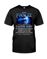 Family Fiancee I Love You Classic T-Shirt thumbnail