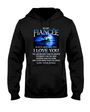 Family Fiancee I Love You Hooded Sweatshirt tile