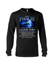 Family Fiancee I Love You Long Sleeve Tee tile
