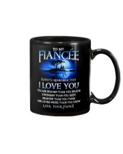 Family Fiancee I Love You Mug tile