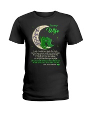 I Love You To The Moon And Back Ladies T-Shirt thumbnail