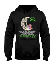 I Love You To The Moon And Back Hobbies Hooded Sweatshirt thumbnail