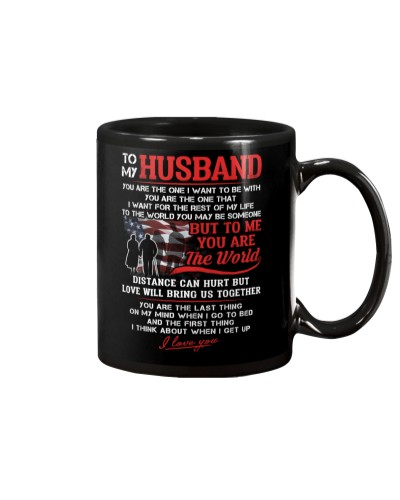 Veteran Husband To Me You Are The World