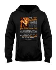 Horse Near Or Far Apart Daughter Hooded Sweatshirt thumbnail