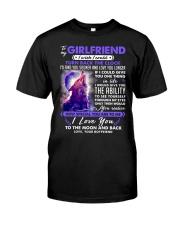 Wolf Girlfriend Clock Ability Moon Classic T-Shirt thumbnail