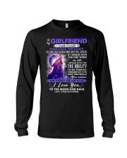 Wolf Girlfriend Clock Ability Moon Long Sleeve Tee thumbnail