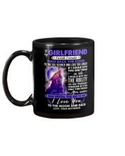 Wolf Girlfriend Clock Ability Moon Mug back