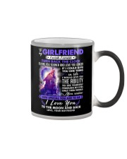 Wolf Girlfriend Clock Ability Moon Color Changing Mug thumbnail