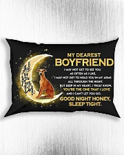 Whippet Boyfriend Sleep Tight  Rectangular Pillowcase aos-pillow-rectangle-front-lifestyle-4